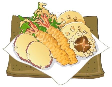 天ぷらを頑なに塩で食うやつwww