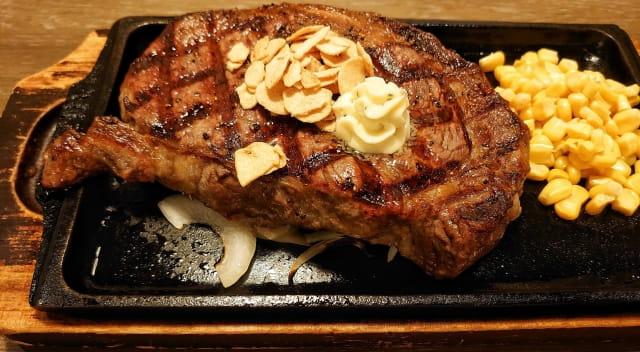 いきなりステーキ年末感謝フェア & 450gのワイルドステーキ頼んだら半生だった(´・ω・`)