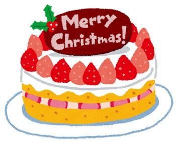 【皆で食べよう】クリスマスケーキ買ってきたよー!!!!!
