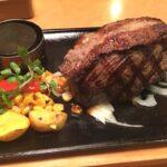 450gのステーキ頼んだら生肉きだった【(´・ω・`)】